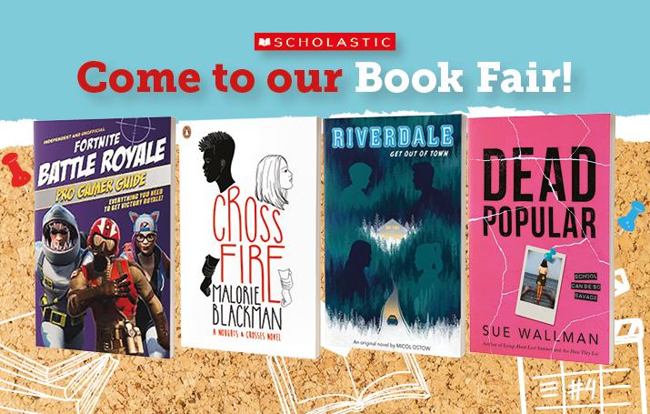 Scholastic Book Fair 2019